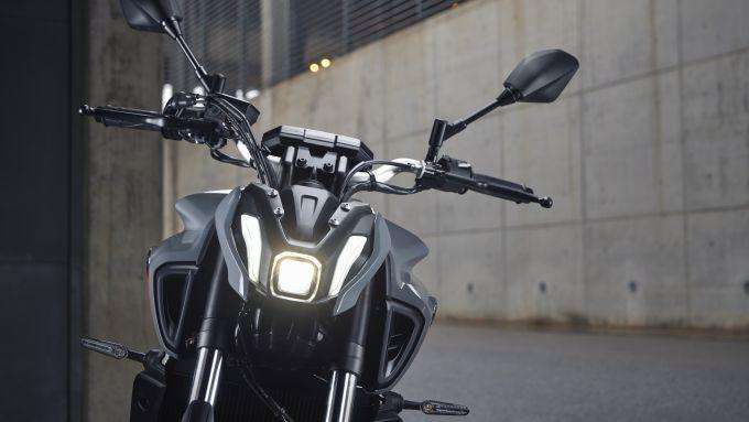 Luci anteriori a LED per la Yamaha MT-07 2021