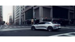 Lucid Air: vista laterale