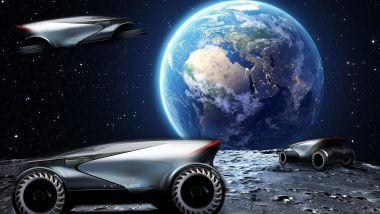 Lunar Portfolio: Lexus immagina come si potrebbe guidare sulla Luna