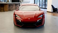 Lycan HyperSport in NFT: visuale anteriore