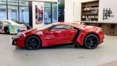 Lycan HyperSport in NFT: visuale laterale
