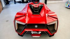 Lycan HyperSport in NFT: visuale posteriore