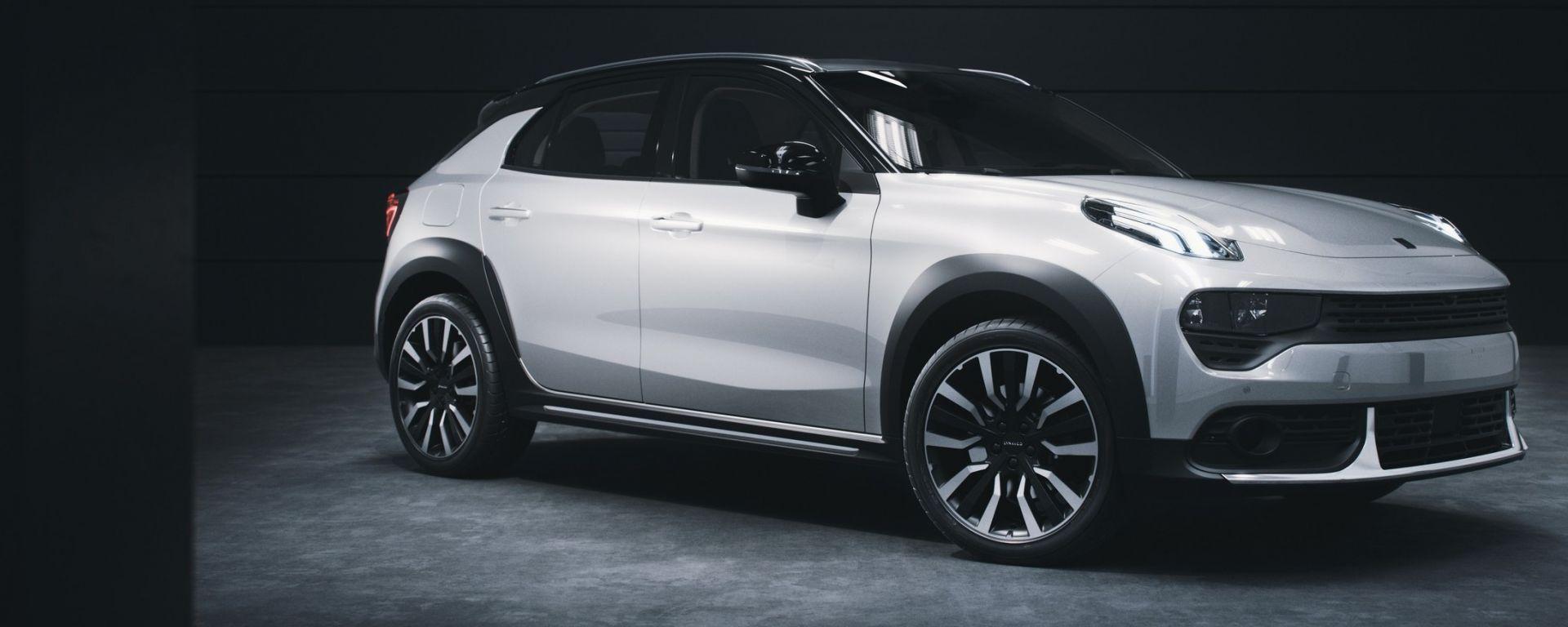 Lynk&Co 02, il SUV compatto cinese cugino della Volvo XC40