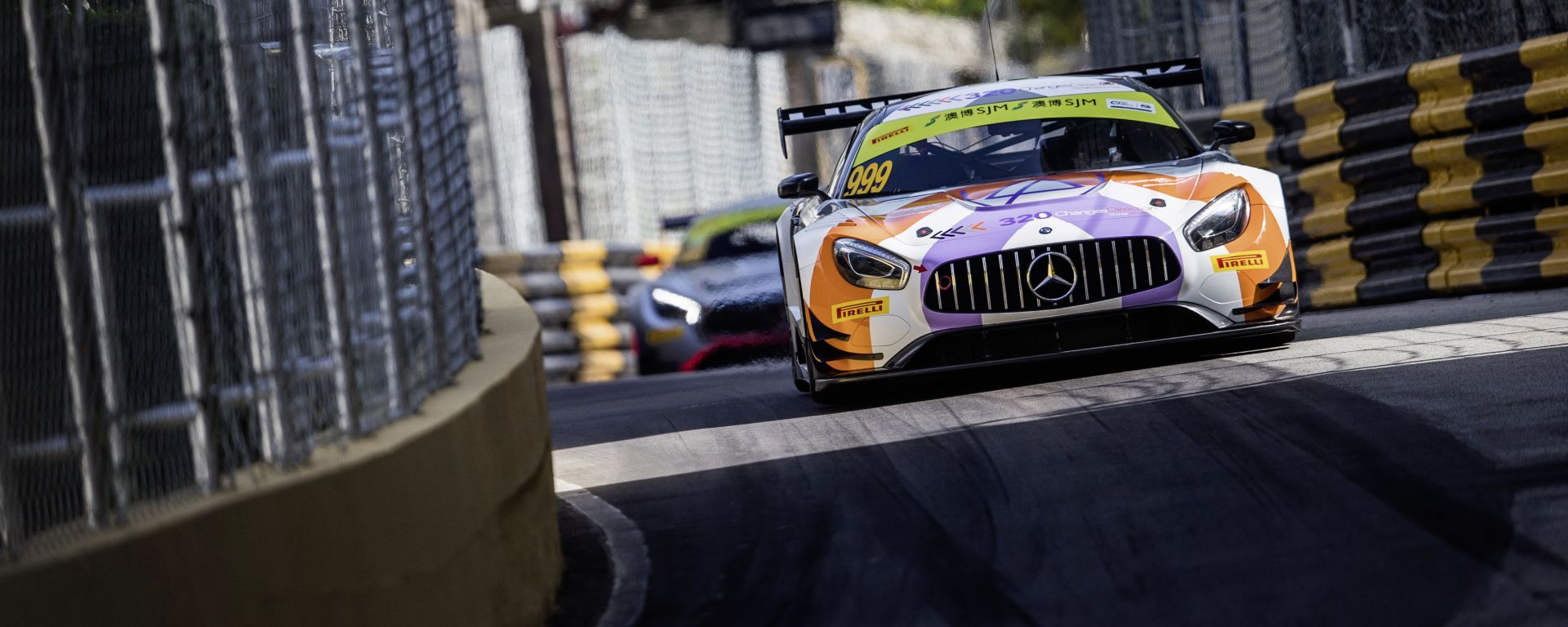 Macau GT World Cup Mercedes