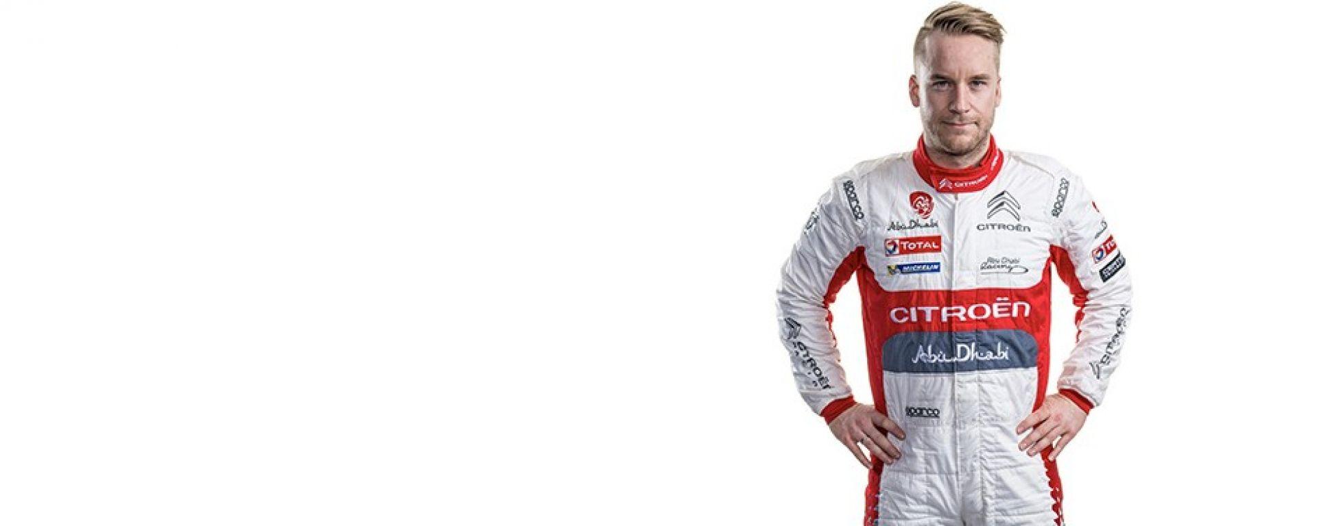 Mads Ostberg - Citroen C3 WRC