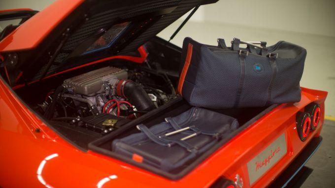 Maggiore 308M, le valigie custom per il bagagliaio posteriore