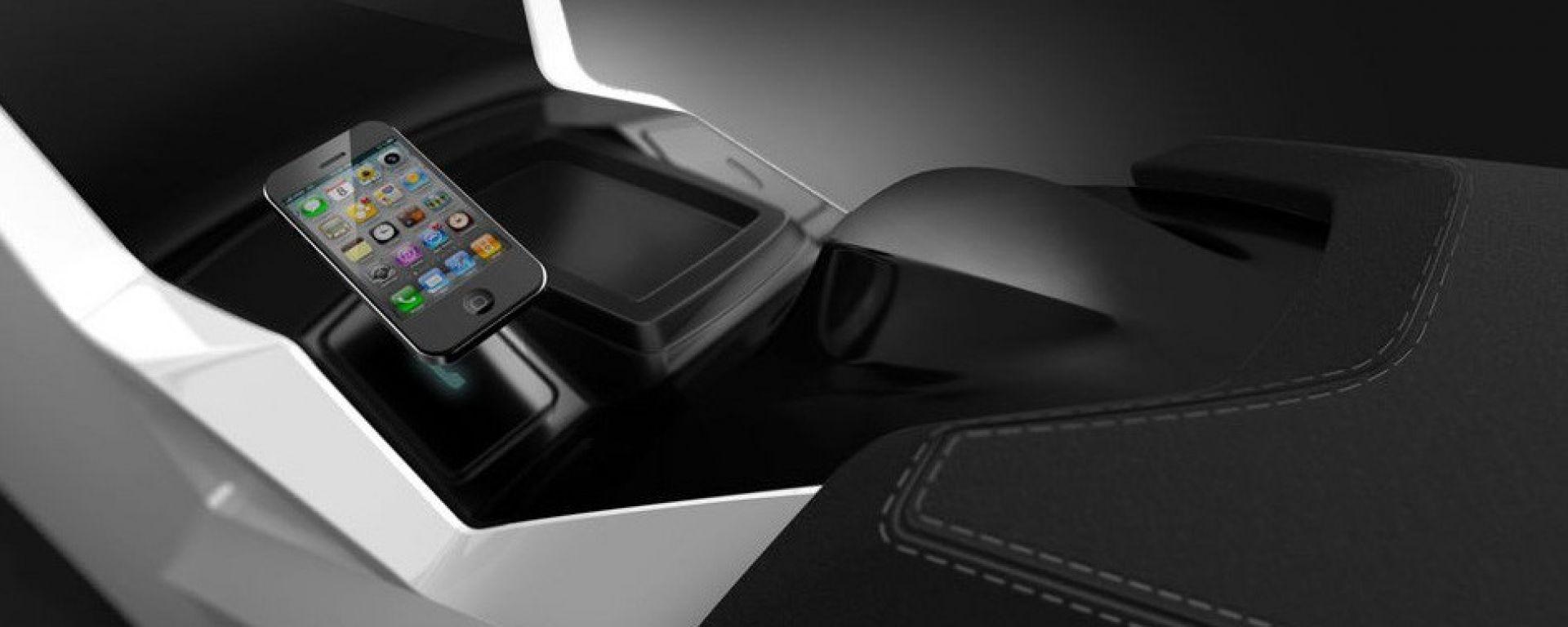 Magna sensitive surface, l'auto in punta di dita