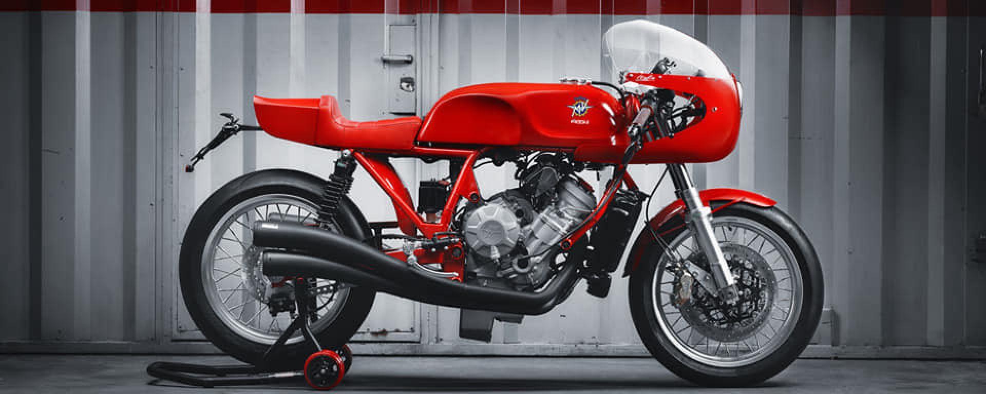 Magni Italia 01/01: la moto omaggio ad Arturo Magni