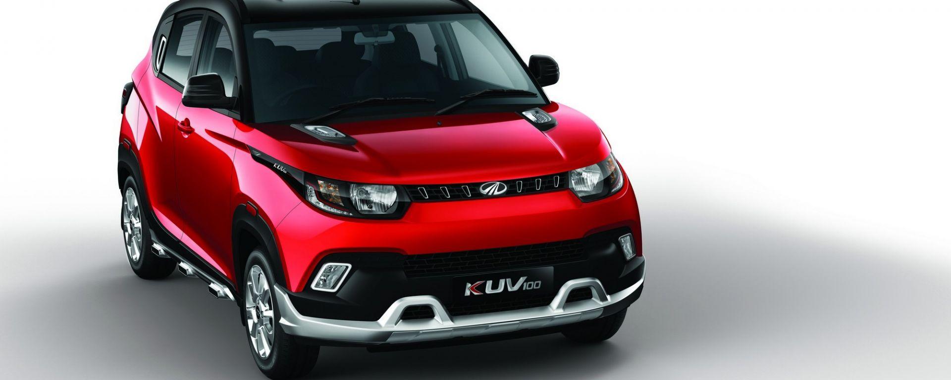 Mahindra KUV100: ecco la mini crossover made in India
