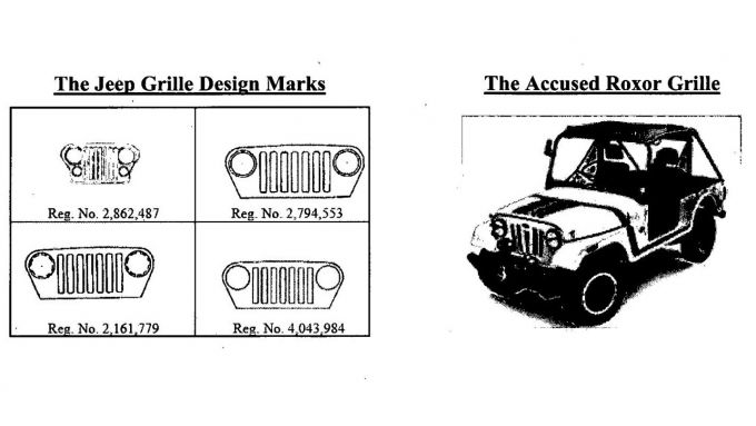 Mahindra Roxor, la griglia frontale a confronto con quella Jeep