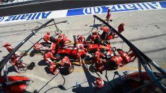 Malaysian GP - pit stop Raikkonen