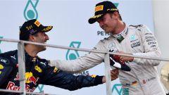 Malaysian GP - Ricciardo e Rosberg sul podio