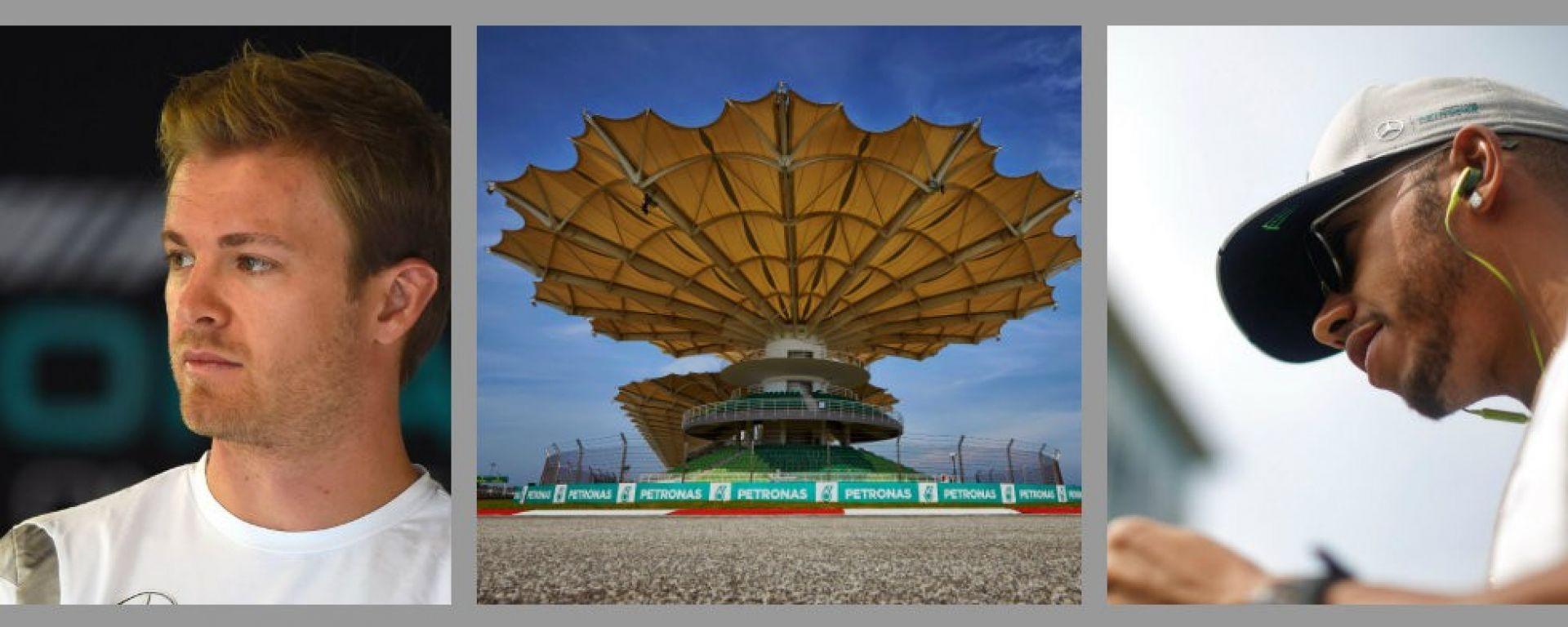 F1, Malaysian GP: cosa ne pensano i piloti Mercedes di Sepang