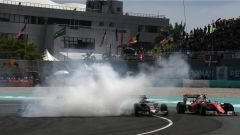 Malaysian GP: Rosberg in testacoda dopo il contatto con Vettel