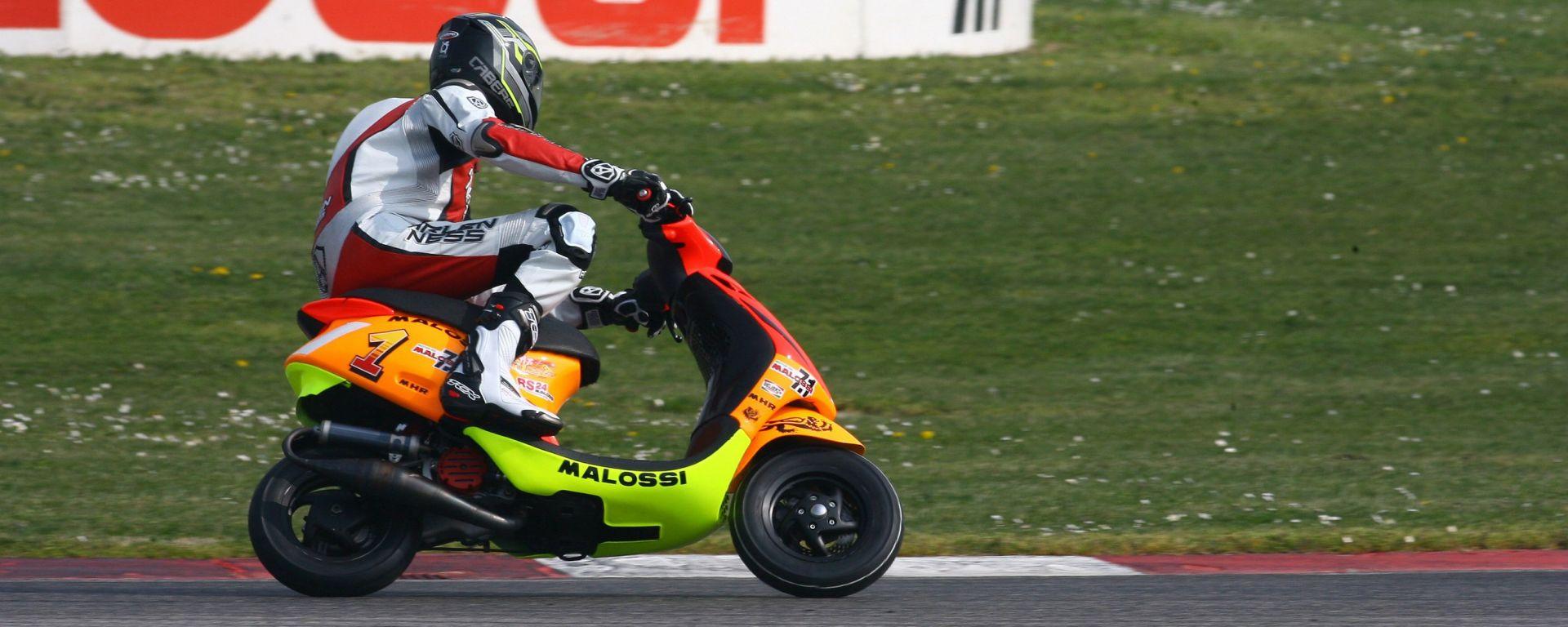 Malossi: quando lo scooter è pronto-gara