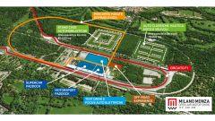 Mappa della manifestazione Milano Monza Motor Show 2020