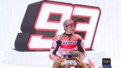 Marc Marquez alla presentazione del team Repsol Honda HRC 2020