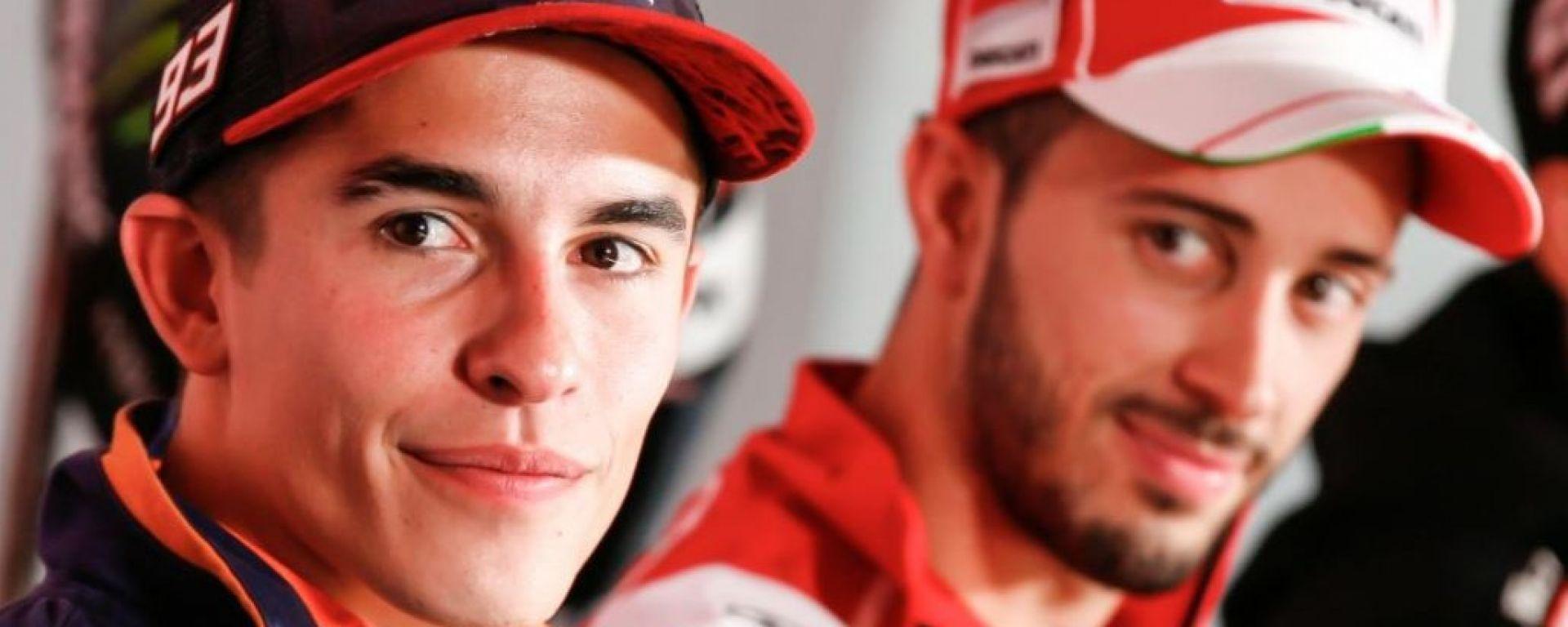 Marc Marquez e Andrea Dovizioso