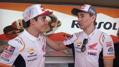 Marc Marquez e Jorge Lorenzo (Honda Repsol Team)