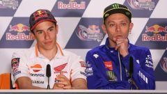 MotoGP America 2018: ecco le conferenze stampa di Marquez e Rossi