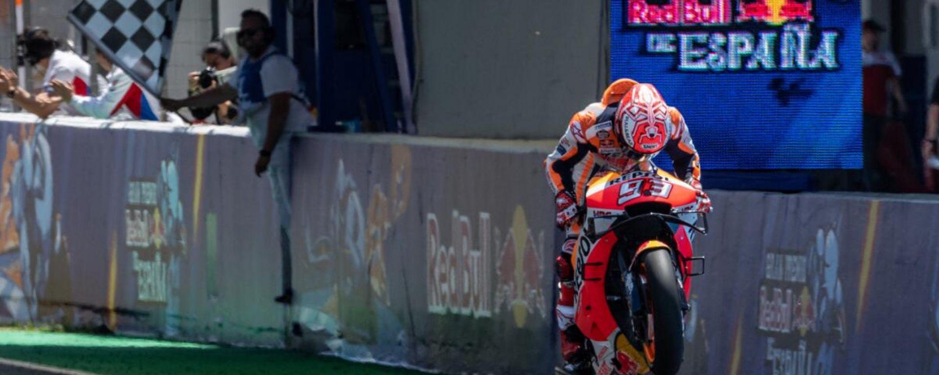 Marc Marquez (Honda) vince il GP di Spagna 2019 a Jerez