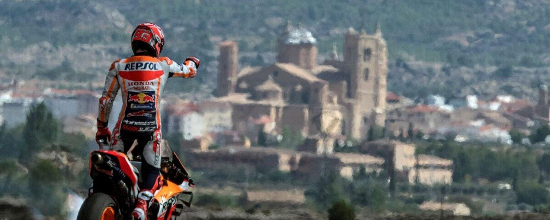 Marc Marquez (Honda) vince il Gran Premio MotoGP di Aragona 2019
