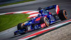 F1: Marc Marquez ha testato la Toro Rosso al Red Bull Ring