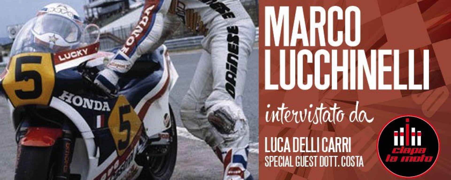 Rider Talks: Marco Lucchinelli si racconta da Ciapa La Moto