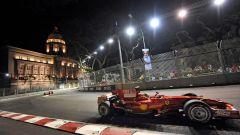 Marina Bay Street Circuit - Ferrari in azione