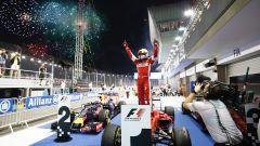 Marina Bay Street Circuit - la festa del podio