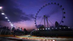 Marina Bay Street Circuit - la ruota panoramica