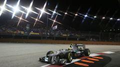Marina Bay Street Circuit - Mercedes in azione