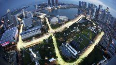 Marina Bay Street Circuit - vista aerea