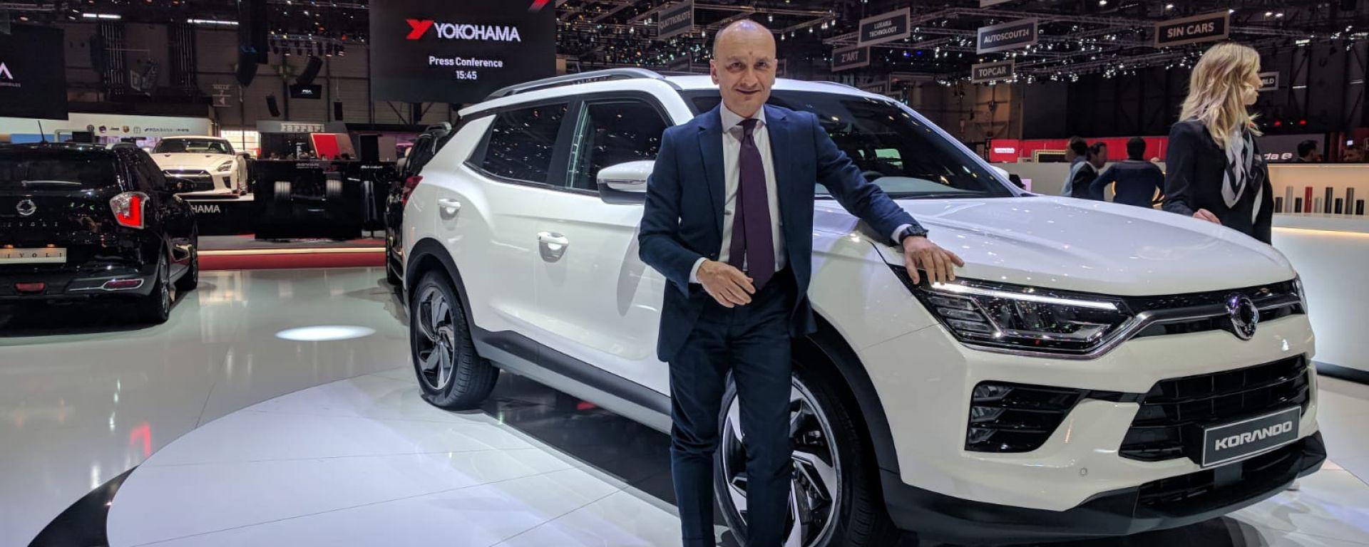 Mario Verna, direttore generale Ssangyong Motor Italia