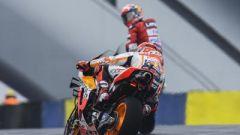 Marquez in pista a Le Mans
