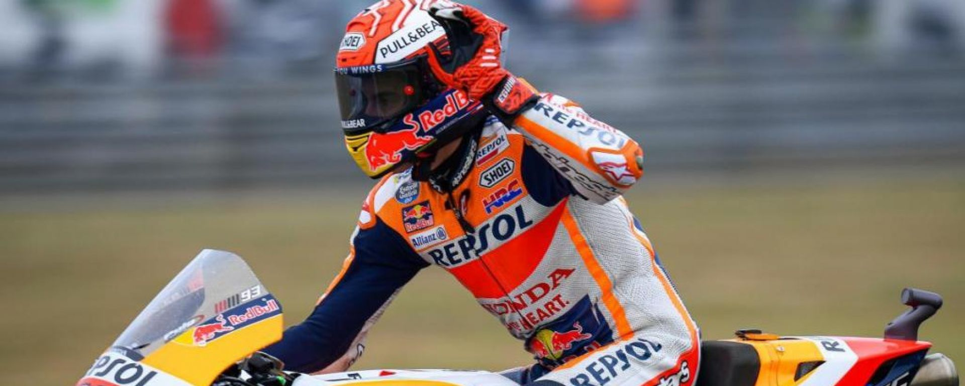 Marquez in pole a LeMans