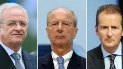 Martin Winterkorn, Hans Dieter Pötsch, Herbert Diess