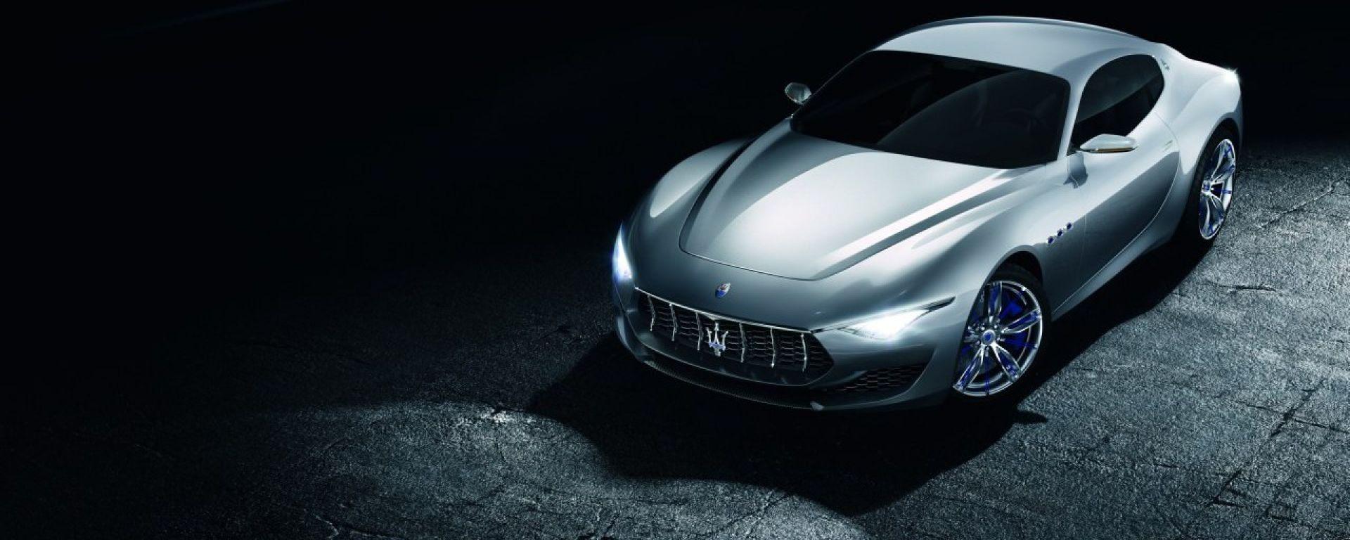 Maserati Alfieri Concept: vista 3/4 anteriore
