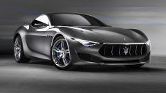 Maserati Alfieri Concept, vista 3/4 anteriore