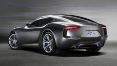 Maserati Alfieri Concept, vista 3/4 posteriore