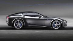 Maserati Alfieri Concept, vista laterale