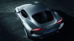 Maserati Alfieri Concept: vista posteriore dall'alto