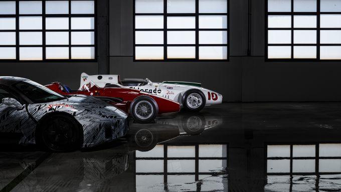 Maserati: generazioni a confronto