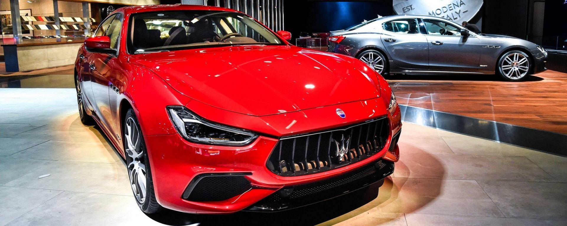 Maserati Ghibli restyling a tutta tecnologia
