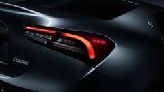 Maserati Ghibli Hybrid, fari posteriori