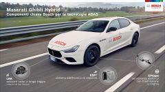 Maserati Ghibli Hybrid: i componenti del nuovo sistema ADAS