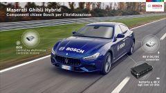 Maserati Ghibli Hybrid: i componenti del sistema ibrido