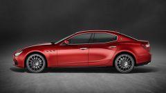 Maserati Ghibli: il V6 benzina riceve un incremento di potenza e la versione meno potente arriva ora a 350 cv