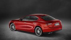 Maserati Ghibli: l'estetica della berlina media del Tridente rimane immutata
