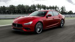 Maserati Ghibli Trofeo in pista